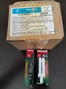 New In Box Lot Of 10 Philips 5w Cfl G23 Base 2 Pin Pl-s 5w 27