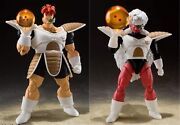 Bandai S.h.figuarts Dragonball Z Recoome And Jiece Pvc Figure Set Of 2 New