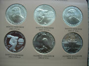 46 Commemorative Silver Dollars 1983-1994 Bu And Pf-can Split Bus Or Prfs Only-l35