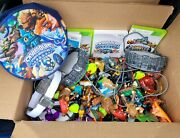 60+ Skylanders Figures, Wii And Xbox 360 Games, Battle Arena Pouch 4 Portals Cards
