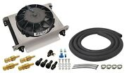 Derale 13960 Automatic Transmission Fluid Cooler And Fan - 13 X 10 X 5-5/8