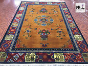 Hand Knotted Tibetan Floral Rug Carpet Runner - Wool - Handmade - Made To Order
