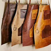 Leather Apron For Butcher Bbq Bbq, Grill, Kitchen, Woodwork ,barber, Welding