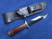 Original Sog Specialities Seki Japan Knife 5th Special Forces Group And Sheath