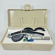 Dymo 1500 Series 1570 Esselte Chrome Label Maker W/extra Wheel Embossers And Tape