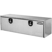 Underbody Truck Tool Box 18 In. X 18 In. X 48 In. Keyed Entry Latches Aluminum