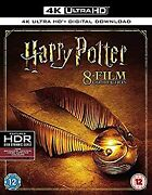 Secondhand Harry Potter Film Collections 4k Uhd Without Some Japanese Region
