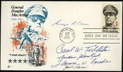 Enola Gay Crew Signed First Day Cover Tibbets Caron Beser Ferebee Van Kirk