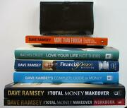 Dave Ramsey 6 Book Lot Total Money Makeover Rachel Cruze + Fpu Envelope System