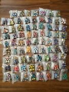 Battle Beasts Complete Set 1-76 With Rubs And Weapons - See Description