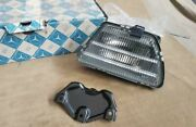 Mercedes C126 Coupe W126 Foglamp Set To Front Bumper Nos
