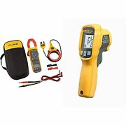 Fluke 381 Remote Display True-rms Ac/dc Clamp Meter With Iflex And 62 Max...