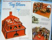 6p History Article + Pics - Antique Miniature Childrenand039s Cast Iron Toy Stoves