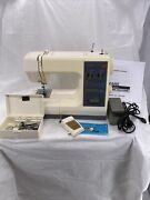 Vintage Sears Kenmore 16 Stitch Sewing Machine Model 385 1584180 And Accessories