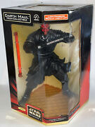 Star Wars Ep1 Darth Maul 12 Mega Collectible Action Figure Light Up Lightsabers