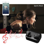 Mini Wireless Bluetooth Headset Twins Stereo Music In-ear Earbuds For Iphone Lg