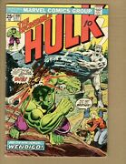 Incredible Hulk 180, Gd/vg, 1st Wolverine In Cameo, W/ Marvel Value Stamp, 1974