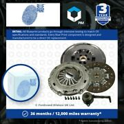 Dual Mass Flywheel Dmf Kit With Clutch And Csc Fits Vw Golf 1j 1.9d 98 To 06 Ajm