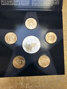 2008 Us Mint Annual Uncirculated Dollar Coin Set. Presidential Coins Not Silver.
