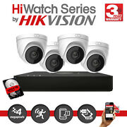 Hilook Cctv Security Grey Camera Network Recorder System 5mp Ip Nvr Hikvision