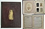 1800s Antique Bible Family Wittell Haugendobler With Photos Genealogy Eshleman