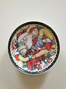 Mary Engelbreit Santa And Children Plate Christmas 7 Me Ink