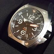 Bell And Ross Marine Date Head Br-02 Black 44mm Divers 1000m Watch Automatic