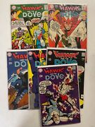 Dc Comics Hawk And The Dove 1 2 3 4 5 6 1-6 Fn Bagged Boarded 1968