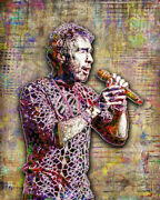 Paul Rodgers Of Bad Company 8x10in Poster, Bad Company Poster Free Shipping