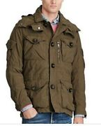 Nwt Hooded Combat/cargo Field Jacket M65 Very Comfortable Warm Xl