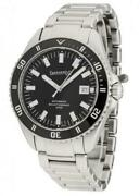 Watch Eberhard Man 41034cad Mechanical Analogue Only Time Steel