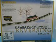 Bachmann N Scale Point-to-point Reversing Track Set