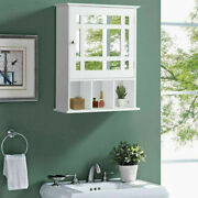 Fch Bathroom Wall Cabinet Over The Toilet Space Saver Storage Medicine Cabinet