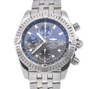 Breitling Chronomat Evolution A13356 Gray Dial Automatic Menand039s Watch U105044