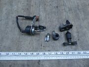 1972 Honda Cb350 Twin H149-2 Ignition Switch W/ Cover Lock Set With Key