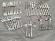 Sterling S Kirk And Son Flatware Set Old Maryland Engraved No Mono Mint Cond