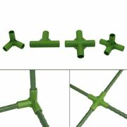 Greenhouse Plant Stakes Edging Corner Connectors Vegetable Garden Climbing Plant