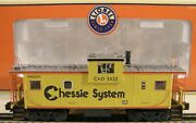 ✅lionel Chessie System Smoking Extended Vision Caboose 6-17639 For Diesel Engine