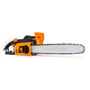 Electric Chainsaw 16 In. 12 Amp Tool-less Chain Tensioning Antivibration