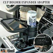 Multifunctional Vehicle Mounted Water Cup Bottle Holder Car Foldable Organizer