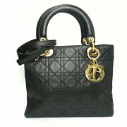 Christian Dior Canage Tote 2way Women's Shoulder Bag Previously Owned No.2948