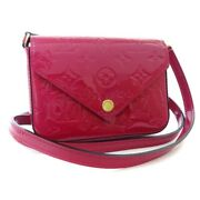 Louis Vuitton Sack Lucy Verni Shoulder Bag Women And039s Rose Andian Pink No.3640