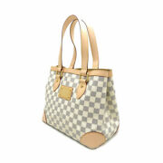 Louis Vuitton Hampstead Pm Damier Azul N51207 Tote Bag Hand Women And039s No.8404