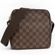Louis Vuitton Shoulder Bag Olaf Pm Damier Ebene N41442 Previously Owned No.6357