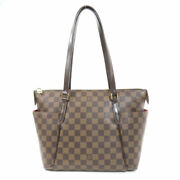 Louis Vuitton N41282 Tootary Pm Damier Ebene Tote Bag Canvas Women And039s No.9296