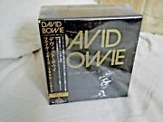 David Bowie - Five Years Very Rare Japanese 12-cd Box Set New And Sealed
