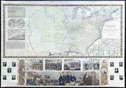 1842 Phelps And Ensignand039s Travellersand039 Guide And Map Of The United States Lm10