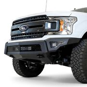 For Ford F-150 18-20 Stealth Full Width Black Powder Coat Front Hd Bumper