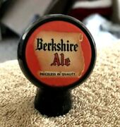 Vintage Berkshire Ale Ball Beer Tap Knob / Handle Old Reading Brewing Co Pa