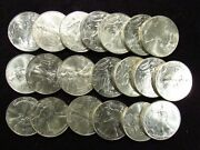 1996 American Silver Eagle 1 Oz .999 Fine Silver Full Roll 20 Coins Impaired